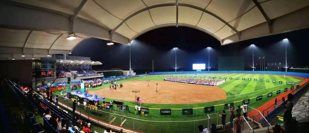 棒球场广角图