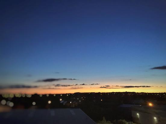 Pic1 ████的晚霞(由被采访者提供并确保真实性)